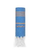 Bio-Hamamtuch Blue-Orange