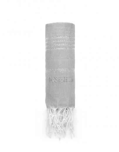 Hamamtuch Grey-Silver